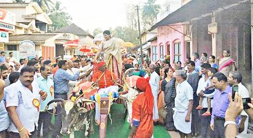 Attempt to make Barkur a tourist destination. Jayamala